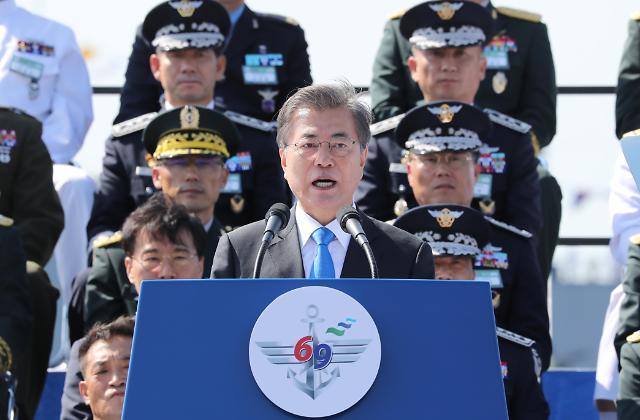 韩国举行建军69周年纪念仪式 公开大批战略武器