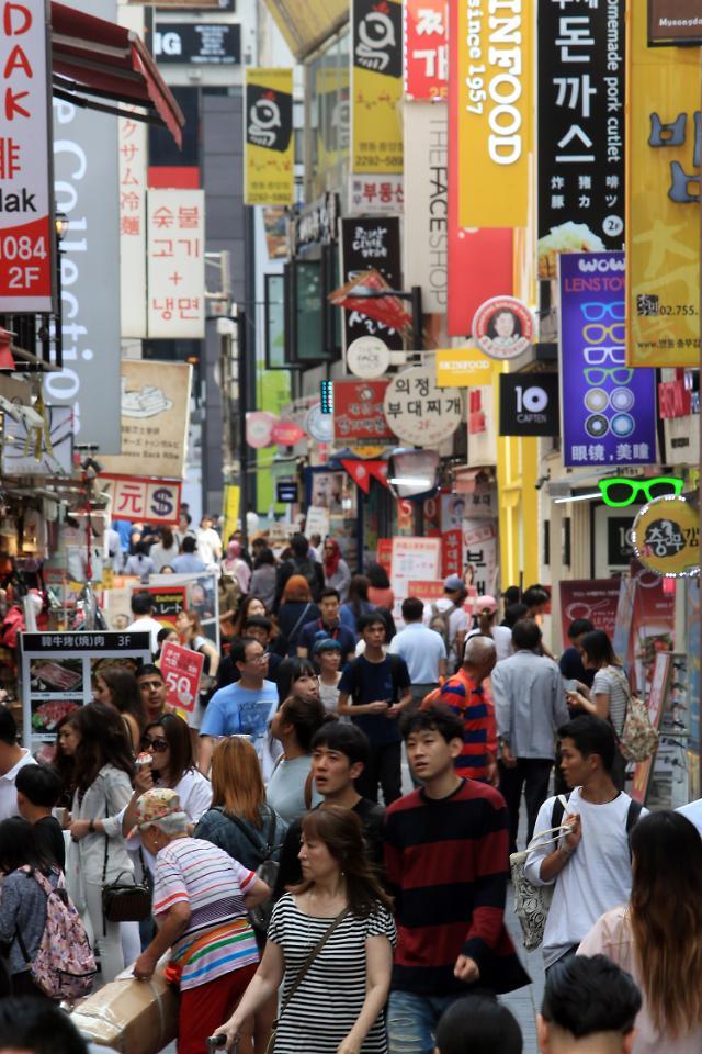 统计:今年1-8月访韩中国人同比减半