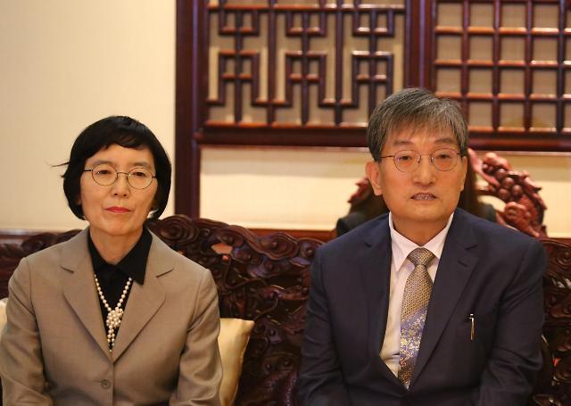 韩驻华大使卢英敏:萨德矛盾不能放任自流