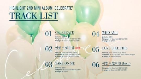HIGHLIGHT将推出道8周年纪念专辑 11日凌晨公开歌单