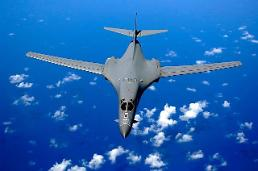 .U.S. strategic bombers stage simulated missile attack on N. Korean targets.