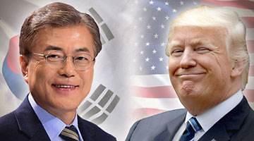 <快讯>韩美首脑下月初在首尔举行会谈