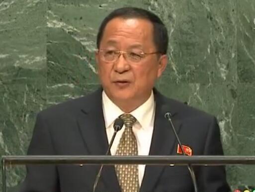 朝鲜外相:不同意协商核武问题 力量基本与美国平衡
