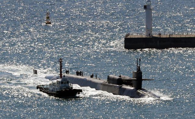 美核潜艇载战斧导弹抵韩慑朝