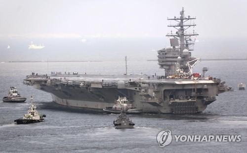 美军战略武器倾巢出动 抵韩军演示警朝鲜