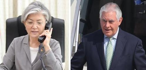 韩美外长通话协调特朗普访韩行程