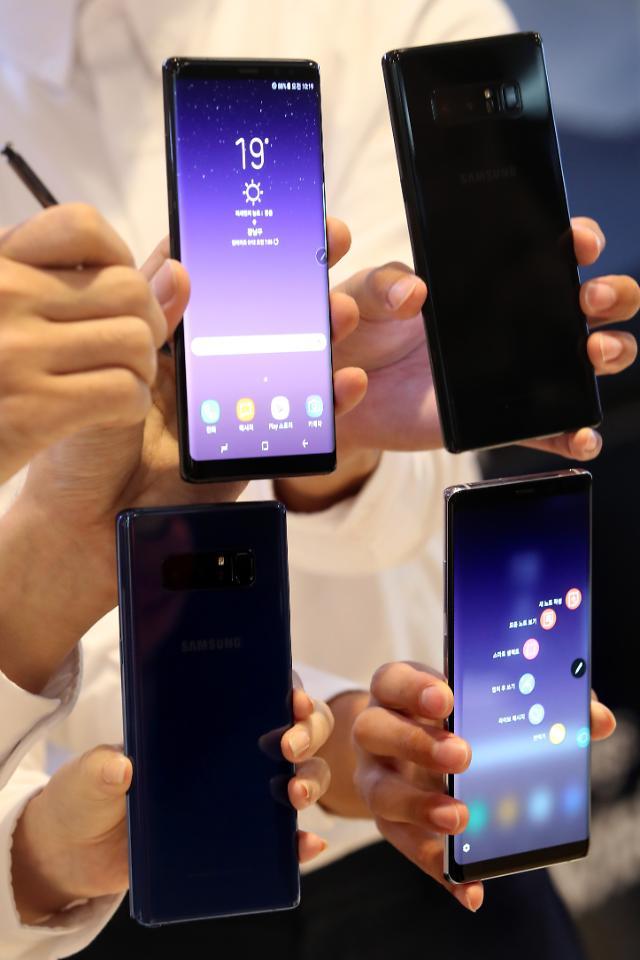 Galaxy Note8于26日登陆日本 欲挑战苹果霸主地位