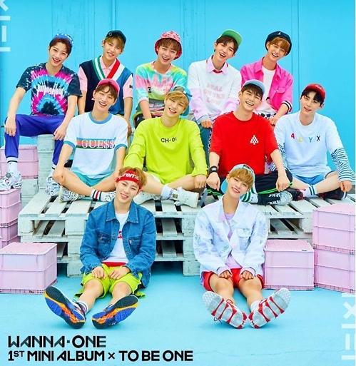 人气男团Wanna One11月13日携新辑回归