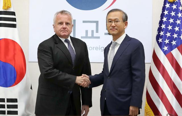 韩美副外长在首尔举行战略对话