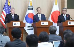 .韩美日副外长在首尔举行战略对话 政府或发表对朝单边制裁方案 .