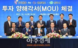 경북도, ㈜올품과 1100억 원 규모 MOU 체결...신규일자리 80개 창출