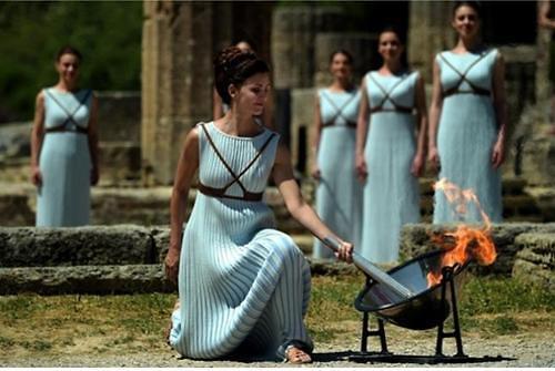 2018平昌冬奥圣火采集仪式将于24日在希腊举行