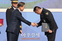 [AJU PHOTO] 범죄도시 마동석, 실제 명예경찰관 임명되다 (72주년 경찰의 날)