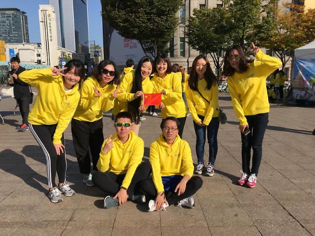 """""""华艺""""炫首尔, """"汉风""""传友谊——2017首尔•中国日活动在首尔广场成功举办"""