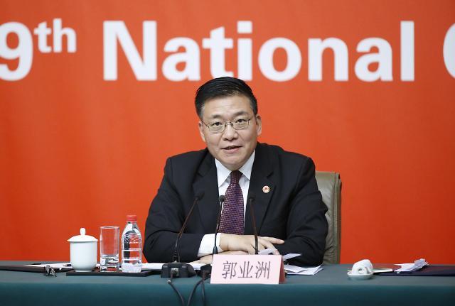 [19차 당대회] 계속되는 기자회견, '북한과 중국 이웃, 우호관계 유지'