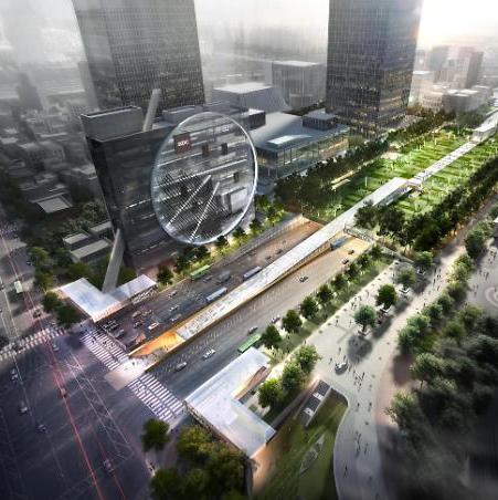 [영상] 영동대로 남단 지하도시, 이대 ECC 설계한 도미니크 페로가 디자인