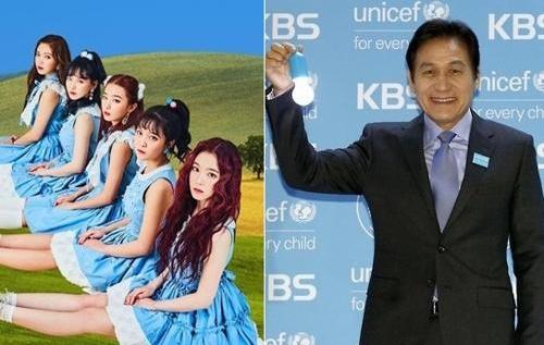 Red Velvet和安圣基任世宗学堂宣传大使