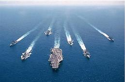 .韩美日实施导弹预警演习应对朝鲜核导威胁.