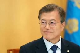 .Moon hopes for early summit with Xi.
