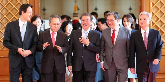 文在寅强调美中日俄是韩国外交的基础