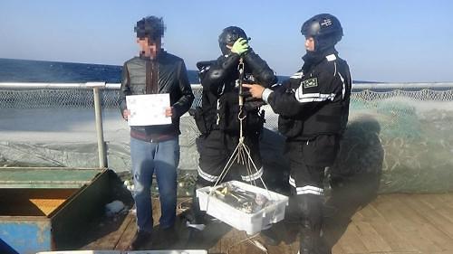 中国一渔船在韩被扣留 涉嫌虚报捕捞量