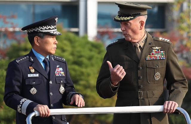 韩美总参谋长磋商移交作战指挥权