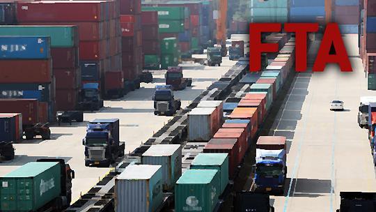 韩对FTA生效国出口依赖度增加 占整体出口额逾七成