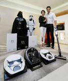 .[PHOTO] Samsungs Star Wars-themed vacuum cleaners.