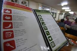 .外国人来平昌看冬奥会就餐不再是难题 江原道斥资整改餐厅牌匾和菜单.