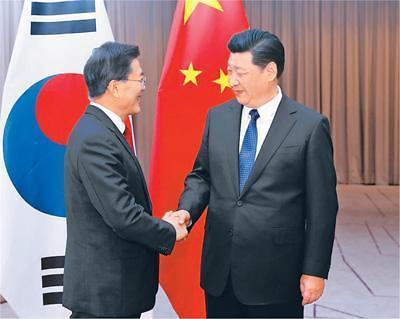 <快讯>韩中首脑会谈下月在越南APEC会议举行