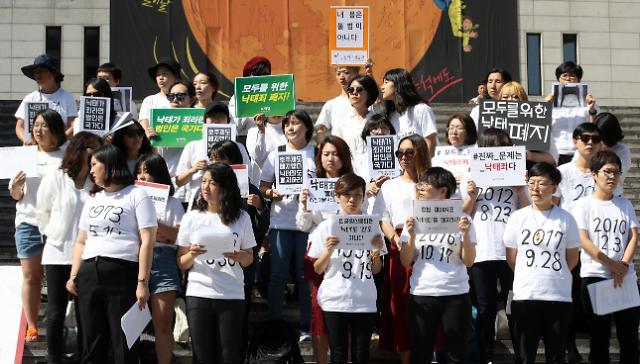 """恶性案件频发韩民众呼吁恢复死刑执行 宪法法院时隔5年重申""""堕胎罪"""""""