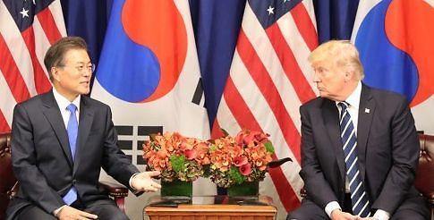 韩政府全力准备韩美首脑会谈