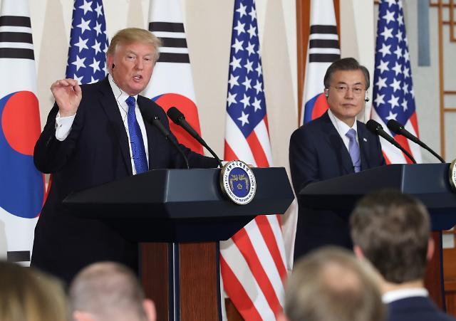 特朗普:韩国将购买数十亿美元美国武器