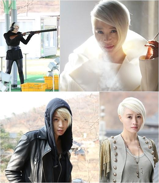 """金惠秀HaNi变身""""白发女郎"""" 明星忍痛""""漂白发""""到底为哪般?"""