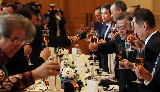 为韩国与印尼的经贸合作干杯!