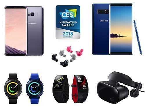 三星36款LG18款产品获2018CES创新奖