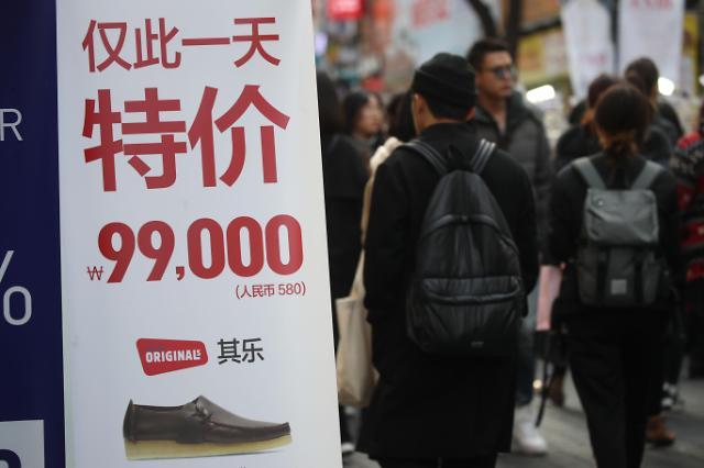 韩商家盼萨德风波后中国游客回归