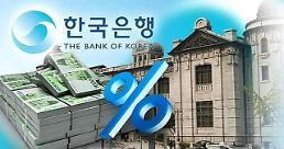 .韩十大证券公司 一致预测央行本月末加息.
