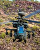 .AH-64E Apache choppers stage first live-fire exercise with Hellfire missiles.