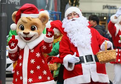 도심에서 미리 만나는 크리스마스