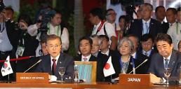 .文在寅出席东盟10+3会议 强调韩中日合作正常化.