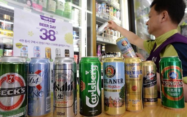 一个韩国人每年喝掉366大杯啤酒 专家:不能再让大牌明星代言了!