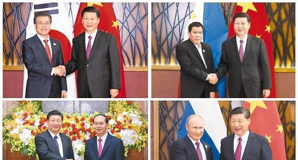 習황제, 대국외교 길 걷는다…中 아태 평화·안정 주도할 것