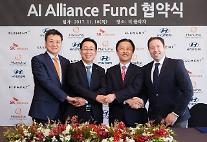 現代自動車-SKT-ハンファ資産運用、「AIアライアンスファンド」設立…「未来技術投資」