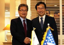 .朝核六方会谈韩美团长在济州会晤.