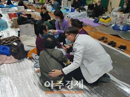 경북도 의료지원반 구성...포항지진 대피소 주민 건강 보살펴