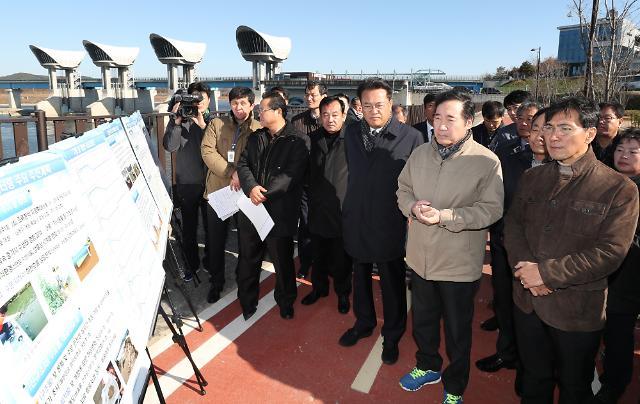 """이낙연 """"4대강 보 개방으로 겨울철 농업에 지장 없는지 고려해야"""""""