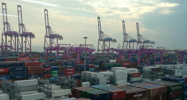 1~9월 한국 수출 증가율, 세계 10대 수출국 중 1위