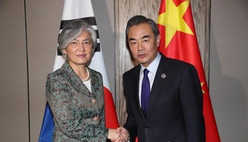 韩外长明日访问中国 22日会晤王毅