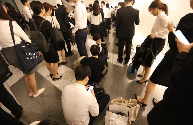 不知何时就会被炒鱿鱼 八成韩国职场人士担心失业